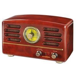 Hyundai Radiopřijímač  RA 202 RETRO, čokoláda