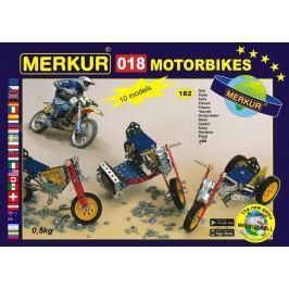 Merkur Toys Stavebnice MERKUR - Motocykl M018