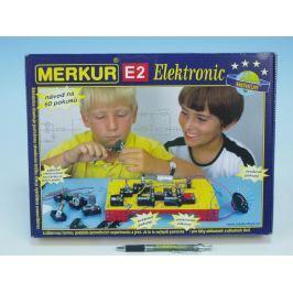 Merkur Toys Stavebnice MERKUR E2 elektronic v krabici