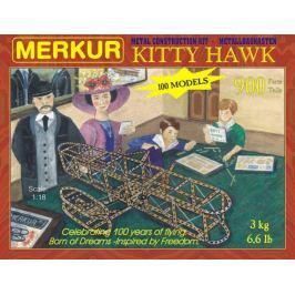 Merkur Toys Stavebnice MERKUR Kitty Hawk 100 modelů 900ks v krabici