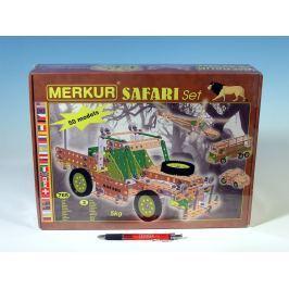 Merkur Toys Stavebnice Merkur SAFARI Set 765ks v krabici