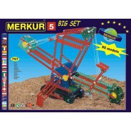 Merkur Toys Stavebnice MERKUR 5 80 modelů 767ks v krabici 36x27x8cm