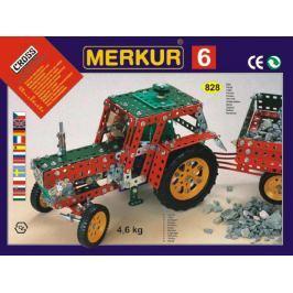 Merkur Toys Stavebnice MERKUR 6 100 modelů 940ks 4 vrstvy v krabici 54x36x6cm