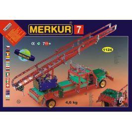 Merkur Toys Stavebnice MERKUR 7 100 modelů 1124ks 4 vrstvy v krabici 54x36x6cm