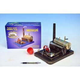 Merkur Toys MERKUR Funkční model parního stroje Medium krabici 28,5x20x11,5cm