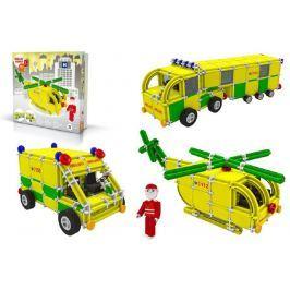Vista Stavebnice Seva Rescue 3 plast 537ks v krabici 35x33x8cm