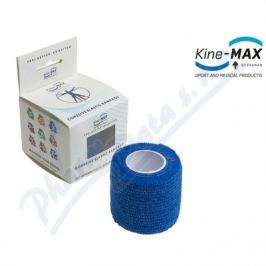 ERAWAN KineMAX Cohesive elast.samofix. 2.5cmx4.5m modré