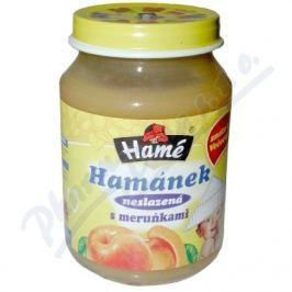 HAME Hamánek kojenecká výživa s meruňkami neslaz.180g