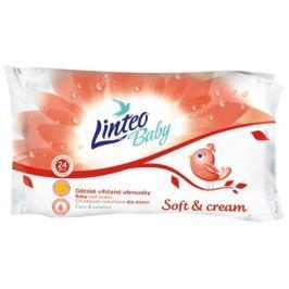 Linteo Baby Vlhčené ubrousky  Soft&cream