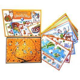 Voltik toys Elektronická kombinační hra pro děti - Školička 2