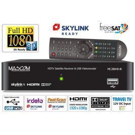 Mascom Satelitní přijímač  MC280HD-IR