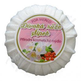 FOR MERCO Přírodní kosmetické mýdlo DIVOKÁ RŮŽE & ŠÍPEK 100g