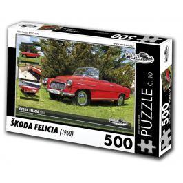RETRO-AUTA Puzzle 500 dílků Škoda Felicia (1960)