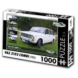 RETRO-AUTA Puzzle č. 5 VAZ  2102 Combi (1985) 1000 dílků