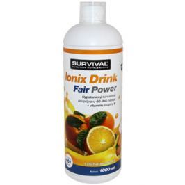 Survival Energetický iontový nápoj  Ionix Drink 1 L, višeň