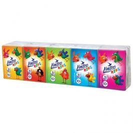 Linteo Baby Papírové kapesníky Linteo Kids mini 10x10ks, bílé, 3-vrstvé
