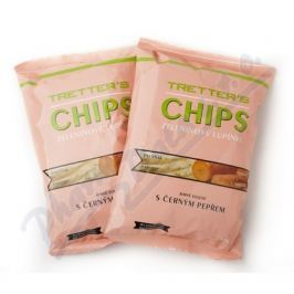 CHIPS Tretters  mrkev pastyňák pepř&sůl 90g