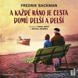 OneHotBook MP3 A každé ráno je cesta domů delší a delší (Fredrik Backman)