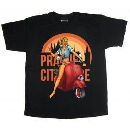 edice Bontonland - Prague City Scooter, pánské tričko M