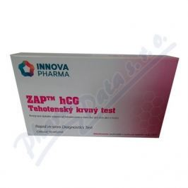 ZBX CORPORATION Těhotenský krevní test ZAP hCG