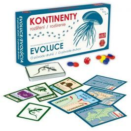 PEXI Hra Evoluce: rozšíření - Kontinenty