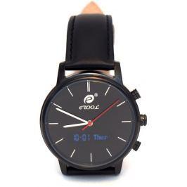 Deveroux etool SW9 - černé   chytré hodinky s měřením kroků a tepu
