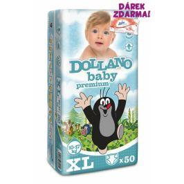 Dollano Baby CZ Jednorázové plenky Krteček Premium XL - 50ks
