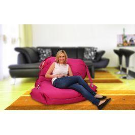 BeanBag Sedací vak  Home Comfort 189 x 140 cm pytel 189x140 s popruhy pink, Pink, 189x140