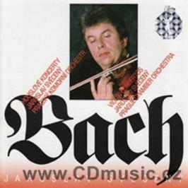 CD Johann Sebastian Bach : Violin Concertos - Jaroslav Svěcený