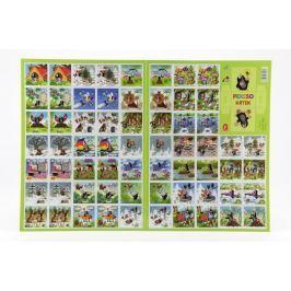 Akim Pexeso Krtek papírové společenská hra 32 obrázkových dvojic
