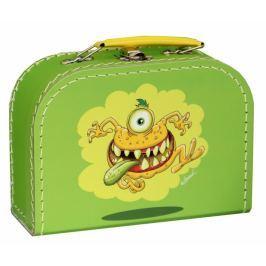Kufr Příšerky zelený, střední