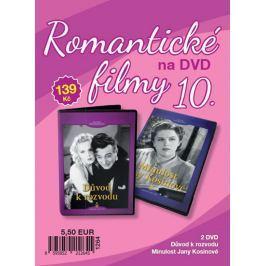 Filmexport Romantické filmy 10 - 2 DVD