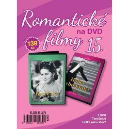Filmexport Romantické filmy 15 - 2 DVD