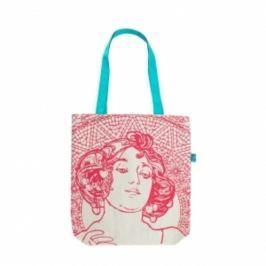 Alfos Mucha - Ruby, plátěná taška Plátěná taška