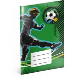 Presco Group Notýsek - Fotbal, linkovaný, 20 listů, A6