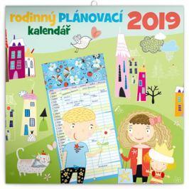 Kalendář 2019 - Rodinný plánovací, 30 x 30 cm