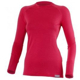 Lasting Dámské vlněné merino triko  Atila, L, Růžová