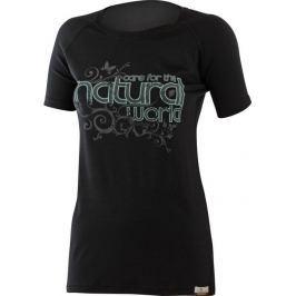 Lasting Dámské tričko  NATURAL, L, Černá