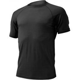 Lasting Pánské vlněné triko  Quido, S, Černá