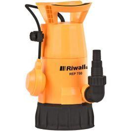 Riwall PRO REP 750 univerzální ponorné kalové čerpadlo 750 W