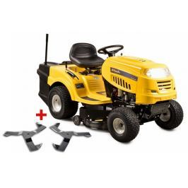 Riwall PRO RLT 92 T POWER KIT travní traktor se zadním výhozem a 6-ti stupňovou převodovkou Transmat