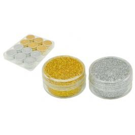 MFP Paper s.r.o. Glitrový pudr 6 stříbrný 12x24g AY-W470 silver