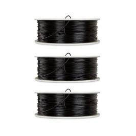 Verbatim PLA struna 1,75 mm pro 3D tiskárnu, 1kg, černá, 3ks/pack