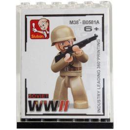 Figurka vojáci WWII + sběratelská krabička