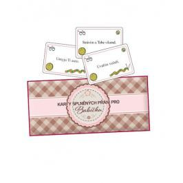 MEDIABOX Karty splněných přání pro babičku