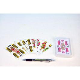 Hrací karty, s.r.o. Mariáš dvouhlavý společenská hra karty v plastové krabičce