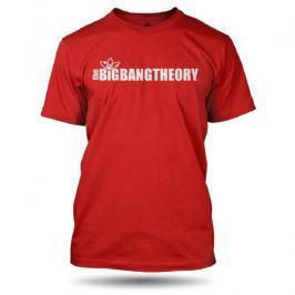 Big Bang Theory - Logo Long, pánské tričko M