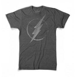 Flash - Dotted (šedé), pánské tričko M