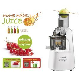 CONCEPT LO7066 Lis na ovoce a zeleninu Home Made Juice WHITE