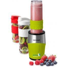 CONCEPT SM3387 smoothie maker  Active Smoothie 500 W zelená 2 x 570 ml + 400 ml